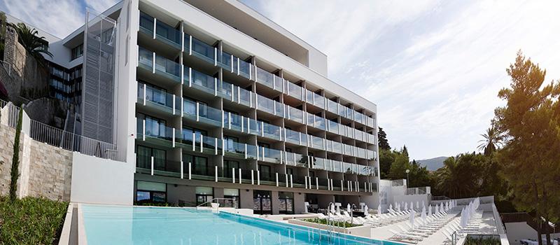 Hotels in dubrovnik including hotel excelsior hotel for Design hotel dubrovnik