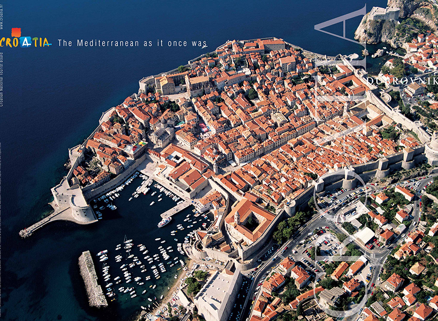 Dubrovnik Old Town panorama, Source: Croatian National Tourist Board, Author: Josip Madračević