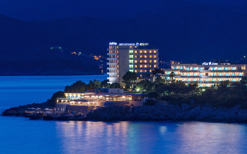 Hotel Ariston Dubrovnik sea view, image copyright Importanne Resorts