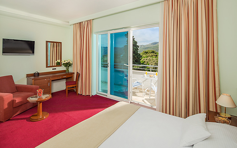 Hotel Ariston Dubrovnik room, image copyright Importanne Resorts
