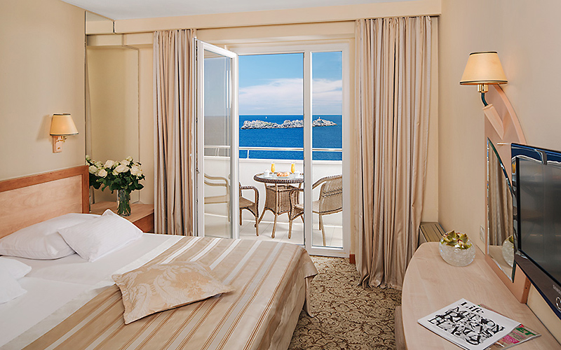 Hotel Neptun Dubrovnik room, image copyright Importanne Resorts